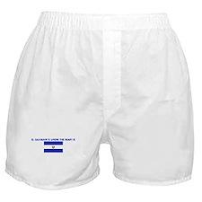 EL SALVADOR IS WHERE THE HEAR Boxer Shorts