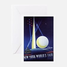 Vintage Travel Poster New York City Greeting Cards