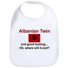 Good Looking Albanian Twin Bib