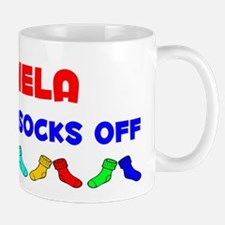 Mariela Rocks Socks (A) Small Small Mug