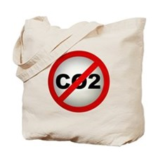 Stop CO2 Tote Bag