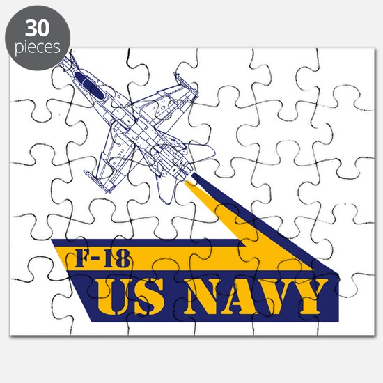 US NAVY Hornet F-18 Puzzle