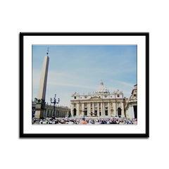 vatican Framed Panel Print