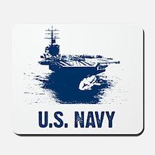 U.S. NAVY Air Craft Carrier Mousepad