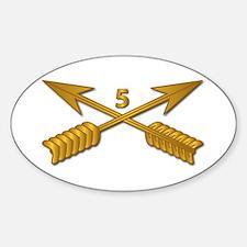 5th SFG Branch wo Txt Sticker (Oval)
