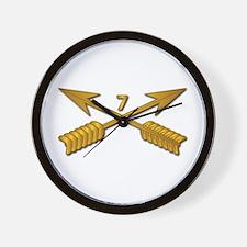 7th SFG Branch wo Txt Wall Clock