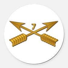 7th SFG Branch wo Txt Round Car Magnet