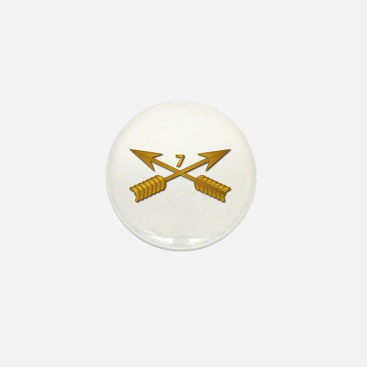 7th SFG Branch wo Txt Mini Button