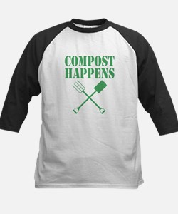 Compost Happens Baseball Jersey