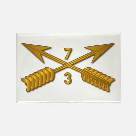 3rd Bn 7th SFG Branch wo Txt Rectangle Magnet
