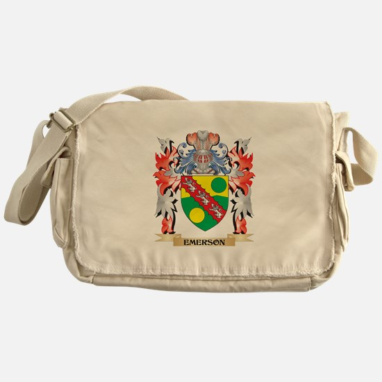 Emerson Coat of Arms - Family Crest Messenger Bag
