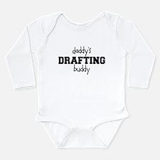 Daddys Drafting Buddy Baby Bodysuit Body Suit