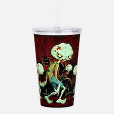 Zombie Creepy Monster Cartoon Acrylic Double-wall