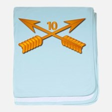 10th SFG Branch wo Txt baby blanket