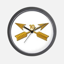 10th SFG Branch wo Txt Wall Clock