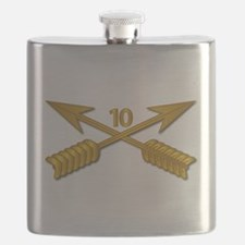 10th SFG Branch wo Txt Flask