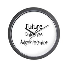 Future Database Administrator Wall Clock