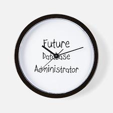 Future Database Administrator Wall Clock
