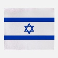 Flag of Israel, the Star of David Throw Blanket