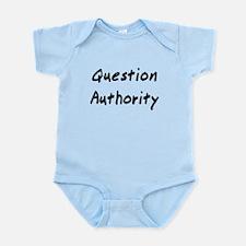 Question Authority Body Suit