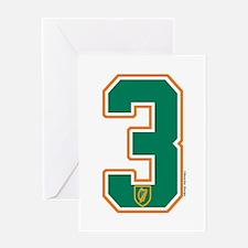IE Ireland(Eire/Erin) Hockey 3 Greeting Card