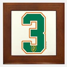IE Ireland(Eire/Erin) Hockey 3 Framed Tile