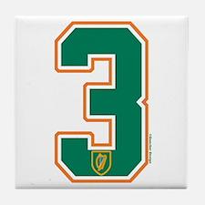 IE Ireland(Eire/Erin) Hockey 3 Tile Coaster