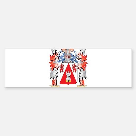 Enrique Coat of Arms - Family Crest Bumper Bumper Stickers