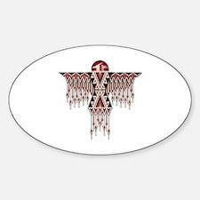 Unique Beadwork Sticker (Oval)