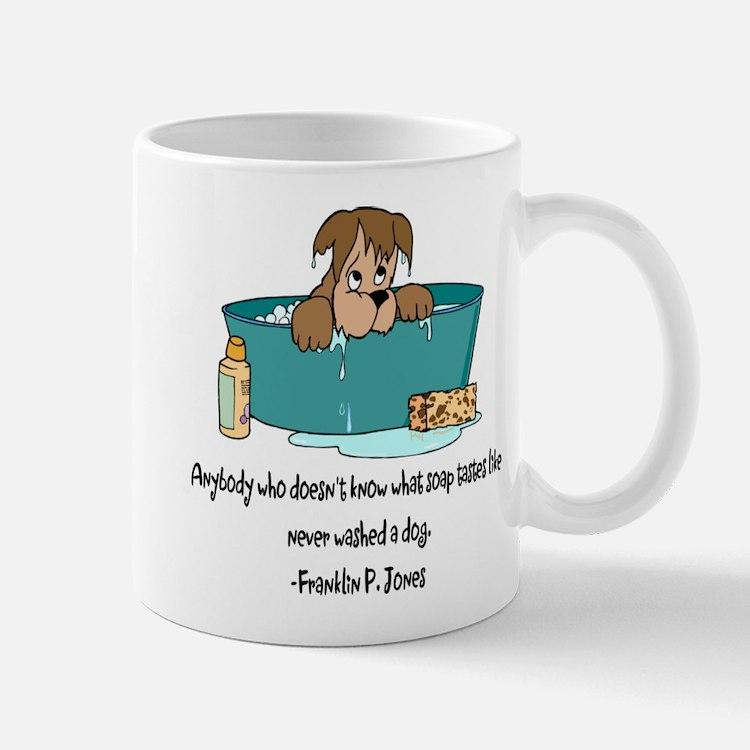 Dog Bath Mugs
