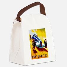 Cute Grand prix Canvas Lunch Bag