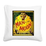 Man in The Moon Game Advertising Print Square Canv