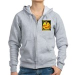 Man in The Moon Game Advertising Print Zipped Hood