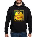 Man in The Moon Game Advertising Print Hoodie