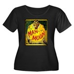 Man in The Moon Game Advertising Print Plus Size T