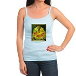 Man in The Moon Game Advertising Print Tank Top