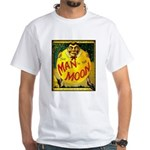 Man in The Moon Game Advertising Print T-Shirt