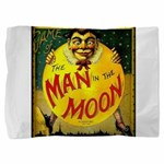 Man in The Moon Game Advertising Print Pillow Sham