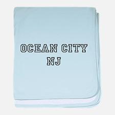 Ocean City NJ baby blanket