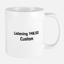 2m Simplex Calling Frequency Custom Callsign Mug