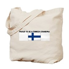 PROUD TO BE A FINNISH GRANDMA Tote Bag