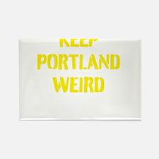 Keep Portland Weird 4 Rectangle Magnet