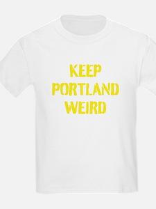 Keep Portland Weird 4 T-Shirt