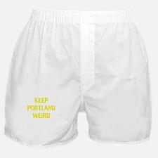 Keep Portland Weird 4 Boxer Shorts