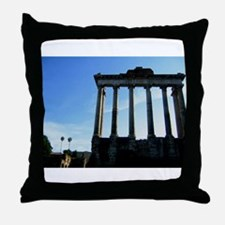 roman forum Throw Pillow