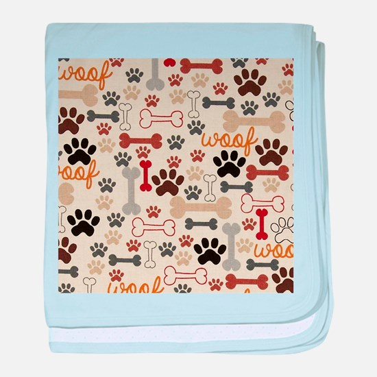 Cool Paw baby blanket