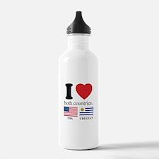 USA-URUGUAY Water Bottle