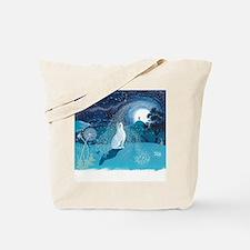 Unique Rabbit art Tote Bag