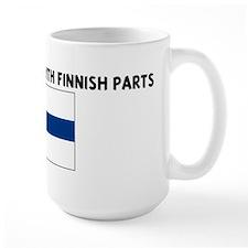 MADE IN AMERICA WITH FINNISH  Mug