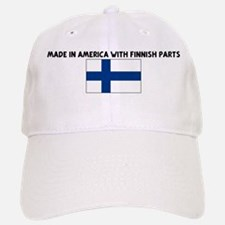 MADE IN AMERICA WITH FINNISH Baseball Baseball Cap
